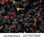 creative illustration in... | Shutterstock .eps vector #1077877004