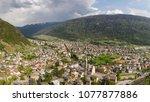 city of tirano   valtellina ... | Shutterstock . vector #1077877886