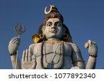koneswaram temple territory....   Shutterstock . vector #1077892340