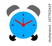 alarm icon. clock icon   clock... | Shutterstock .eps vector #1077922619
