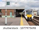 three bridges  sussex  uk  26th ... | Shutterstock . vector #1077975698