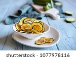 bowl of a homemade roasted... | Shutterstock . vector #1077978116