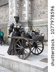 dublin  ireland  april 25th ... | Shutterstock . vector #1077978596