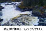 kivakkakoski paanajarvi... | Shutterstock . vector #1077979556