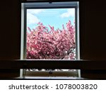 room with a view. window... | Shutterstock . vector #1078003820
