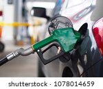 vehicle at fuel station and... | Shutterstock . vector #1078014659