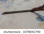 builder  fine cement floor  | Shutterstock . vector #1078041740