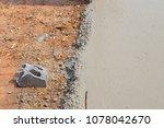 builder  fine cement floor  | Shutterstock . vector #1078042670