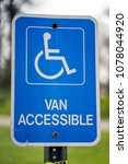 Small photo of Van Accessible Handicap Only