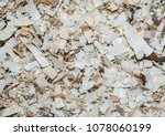 wood chips from chain saw...   Shutterstock . vector #1078060199
