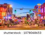 memphis  tennessee   august 25  ... | Shutterstock . vector #1078068653
