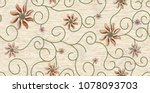 marble wall and floor for... | Shutterstock . vector #1078093703