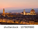 Florence  Italy   Skyline With...
