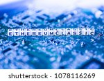 word ethereum classic formed by ... | Shutterstock . vector #1078116269