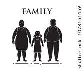 family. mom  dad and daughter.... | Shutterstock .eps vector #1078151459