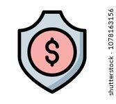 shield secure lock  | Shutterstock .eps vector #1078163156