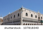 doge's palace  saint marks... | Shutterstock . vector #107818340