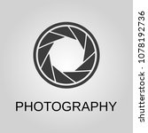 photography icon. photography... | Shutterstock .eps vector #1078192736