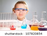 close up portrait of a smart...   Shutterstock . vector #107820854