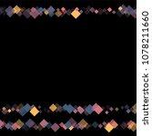 rhombus cosmic minimal... | Shutterstock .eps vector #1078211660
