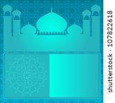 islamic background. eps version ... | Shutterstock . vector #107822618
