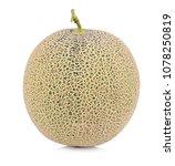 a whole of cantaloupe melon... | Shutterstock . vector #1078250819