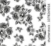 abstract elegance seamless... | Shutterstock . vector #1078264016
