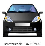a vector  illustration of car....