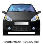 a vector  illustration of car.... | Shutterstock .eps vector #107827400