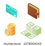 flat isometric illustration of... | Shutterstock .eps vector #1078304243