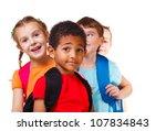 kids ready back to school | Shutterstock . vector #107834843