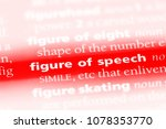 Small photo of figure of speech word in a dictionary. figure of speech concept