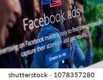 new york  usa   april 26  2018  ...   Shutterstock . vector #1078357280