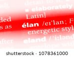 lan word in a dictionary.  lan ... | Shutterstock . vector #1078361000