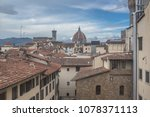 arno river  florence  italy... | Shutterstock . vector #1078371113