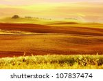 image of typical tuscan... | Shutterstock . vector #107837474