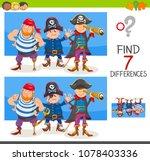 cartoon illustration of finding ... | Shutterstock .eps vector #1078403336
