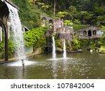 views of tropical gardens in... | Shutterstock . vector #107842004