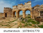 ruins of ancient city ... | Shutterstock . vector #1078431770