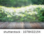 selected focus empty wooden... | Shutterstock . vector #1078432154