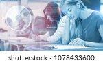 composite image of composite...   Shutterstock . vector #1078433600