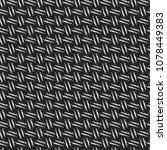 abstract monochrome dotted... | Shutterstock .eps vector #1078449383