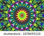 beautiful illustration. bright... | Shutterstock . vector #1078455110