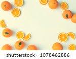 creative summer layout made of... | Shutterstock . vector #1078462886