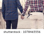 rear capture of a young... | Shutterstock . vector #1078465556