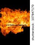 fire stick | Shutterstock . vector #107847170