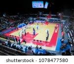 blurred background. basketball...   Shutterstock . vector #1078477580