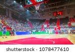 blurred background. basketball...   Shutterstock . vector #1078477610