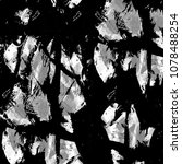 old monochrome grunge... | Shutterstock . vector #1078488254
