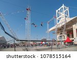 flying trapeze artists of... | Shutterstock . vector #1078515164